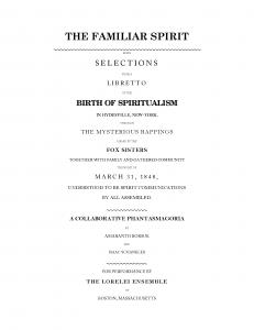 Libretto, Cover